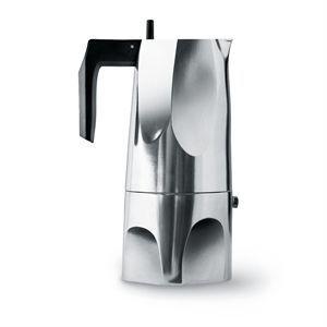 Image of   Alessi espresso kande - Ossidiana i aluminium (large)