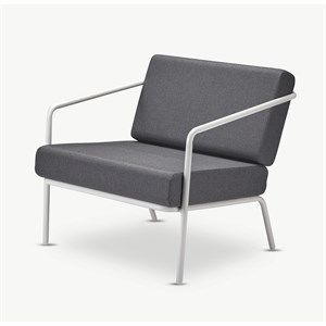 Image of   Skagerak (Trip Trap) - Mojo Lounge Chair - Charcoal