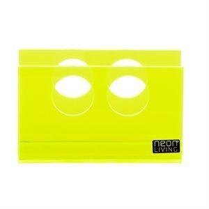 Napkin U servietholder fra Neon Living – neonyellow/green