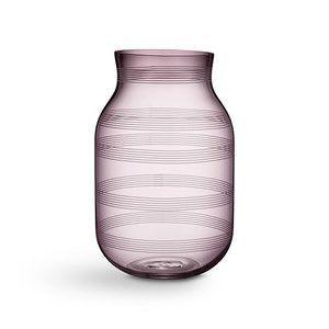 Kähler - Omaggio vase - Højde 28 cm - Blommefarvede