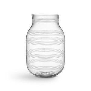 Kähler - Omaggio vase - Højde 28 cm - Klar