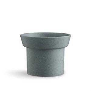Kähler - Ombria Urtepotteskjuler - H13 cm - Granitgrøn