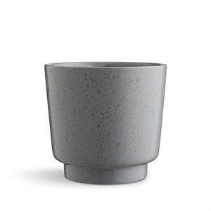 Kähler - Ombria Urtepotteskjuler - H17 cm - Skiffergrå