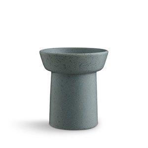 Kähler - Ombria vase - H13 cm - Granitgrøn