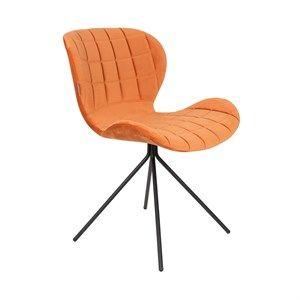 Image of   Zuiver - Stol OMG fløjl - Orange