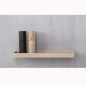 Image of   Andersen Furniture - Shelf 10 - Oak Lacquer - 32x12 cm