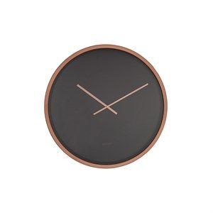 Image of   Zuiver - Ur - CLOCK TIME BANDIT - Sort/COPPER
