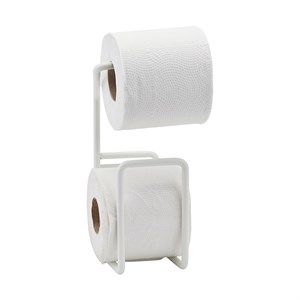 Image of   House Doctor - Toiletrulleholder - Via - Hvid