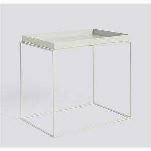 Image of   Hay bord - Tray table rectangular - Varm grå