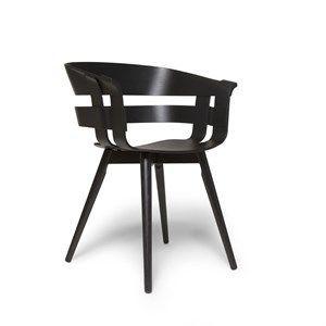 Image of   Design House Stockholm stol - Wick stol i sort ask sæde/sort ask ben
