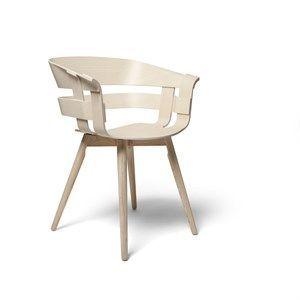 Image of   Design House Stockholm stol - Wick stol i ask sæde/ask ben