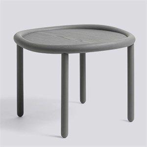 Wrong for hay bord - Serve table - grå top, grå ben (Ø72)