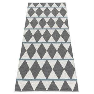 """Image of   Horredsmattan dørmåtte """"Zigge"""" - 150 x 200 cm - farve: grå"""
