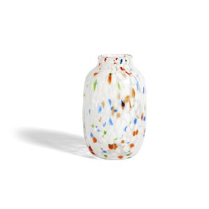 Image of   HAY - Splash Vase - White dot