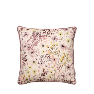Image of   Cozy Living - Alberte Printed Cushion - Rouge