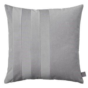 Image of   AYTM - Sanati - pude i velour - Light grey