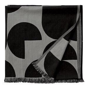 Image of   AYTM - Forma Plaid Throw - Light grey/black