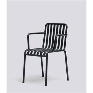 Image of   HAY havemøbel - Palissade armchair i anthracite
