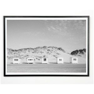 Image of   Applicata - Plakat - Beach house - 30x40 cm