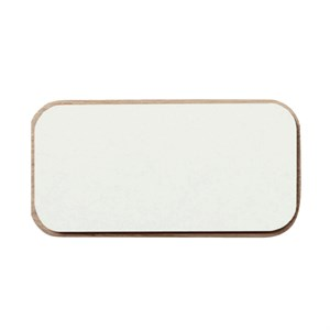 Image of   Andersen Furniture - Create Me Låg (6x12 cm) - Hvid
