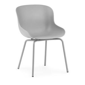 Image of   Normann Copenhagen - Hyg stol - Stål/grå