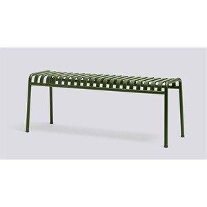 Image of   HAY havemøbel - Palissade bænk i olive