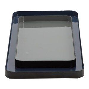 Image of   Au Maison - Dekorationsbakker - Midnatsblå og grå