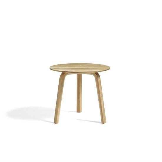 Køb HAY – Bella Sofabord – OILED SOLID OAK – Ø: 45 x H: 39 cm