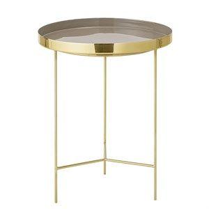 Image of   Bloomingville - Bakke bord - Brun - 40x50 cm - Aluminium