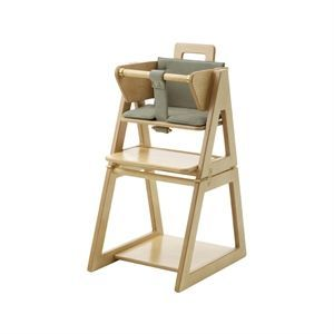 Image of   Barnestol med olivengrøn hynde fra HINDEVADGÅRD