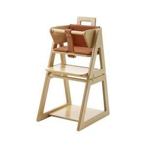 Image of   Barnestol med rustrød hynde fra HINDEVADGÅRD