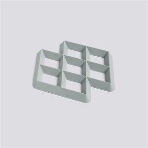 Image of   HAY bordskåner - Rhom Trivet - Lys grå