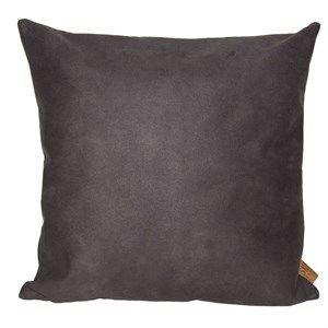 Billede af Skriver Collection pude - Boxter pude i dark brown/grey 45x45