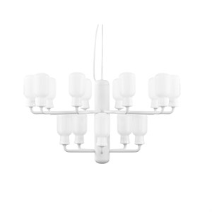 Image of   Normann Copenhagen - Amp Lysekrone - Small - Hvid