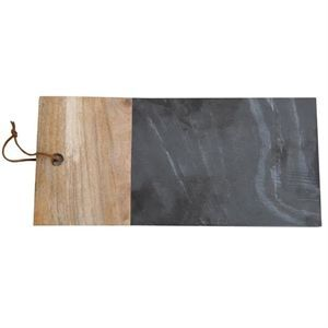 Image of   Au Maison - Marble Cuttingboard - Sort