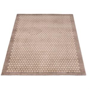 Image of   tica copenhagen - Smudsmåtte - Dots - Sand - 90x130 cm