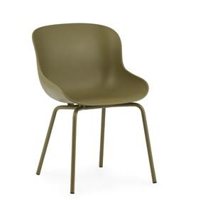 Image of   Normann Copenhagen - Hyg stol - Stål/oliven