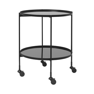 Image of   Cozy Living - Gitte Bar cart - BLACK