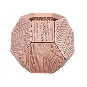 Tom Dixon lysestage - Etch Tea Light Wood (kobber)