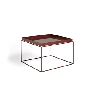 Image of   HAY - Tray table / coffee side table - Chocolate high gloss