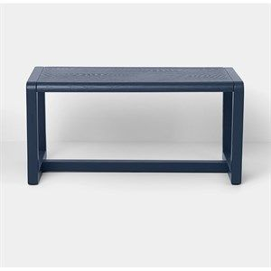Image of   Ferm Living - Børnebænk - Dark blue