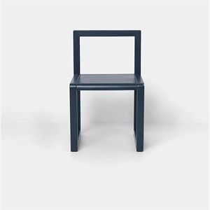 Image of   Ferm Living - Børnestol- Dark blue