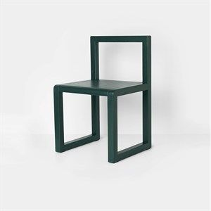 Image of   Ferm Living - Børnestol- Dark green