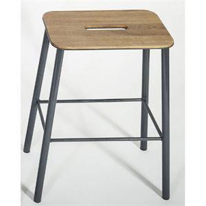 Image of   Frama - Adam skammel/barstol (højde 50 cm) - grå