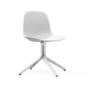 Image of   Normann Copenhagen - Form drejestol - Hvid