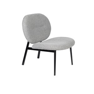 Image of   Zuiver - Lounge Chair Spike - Grå