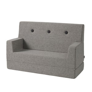 Image of   By KlipKlap børnesofa - KK Kids Sofa - Multigrå