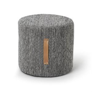 Image of   Design House Stockholm - Björk puf - Mørkegrå - Høj model