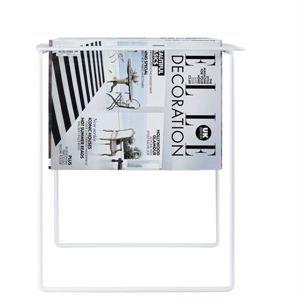 Magasinholder Grill i hvid fra Neon Living