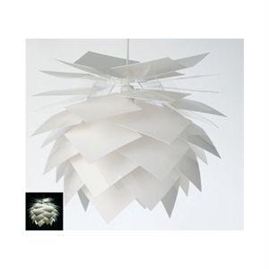 Image of   Dyberg-Larsen Pineapple pendel hvid Ø 50 cm